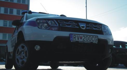 Mestská polícia Rožňava Dacia Duster